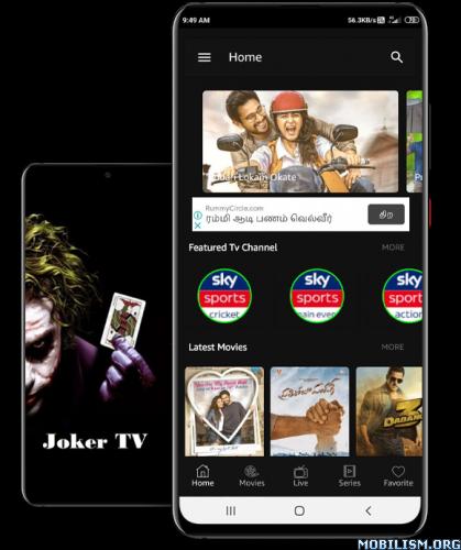 JOKER TV v1.11.4 ModLatest   APK Zone